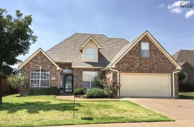 Wichita Falls Single Family Home For Sale: 4810 Heisman Drive