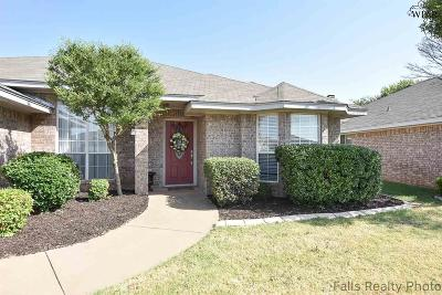 Wichita Falls TX Single Family Home Active W/Option Contract: $167,500
