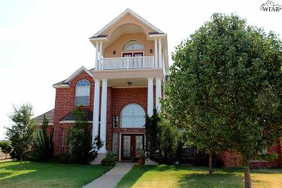 wichita falls Single Family Home For Sale: 4 Canyon View Court