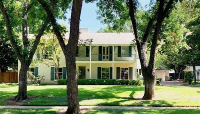 Wichita Falls Single Family Home For Sale: 2007 Berkeley Drive