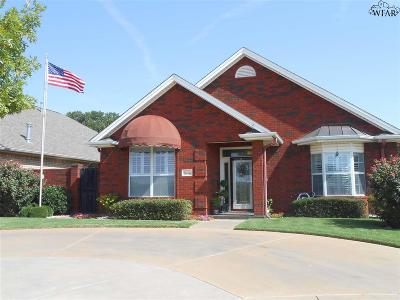 Wichita Falls Single Family Home For Sale: 7 Avery Row Court