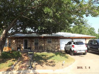 Clay County Single Family Home Active W/Option Contract: 205 S Fairway Drive