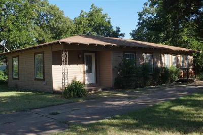 Wichita Falls TX Single Family Home For Sale: $69,500