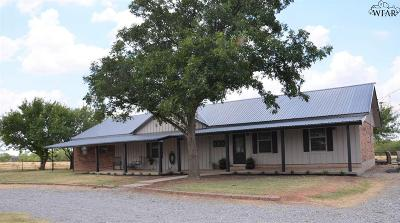 Holliday Single Family Home For Sale: 971 E Hwy 258