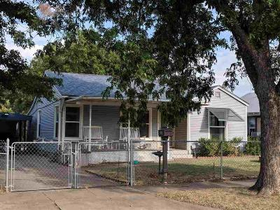 Wichita Falls TX Single Family Home For Sale: $61,595