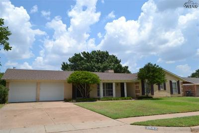 Wichita Falls TX Single Family Home For Sale: $154,900