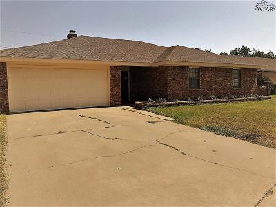 Wichita Falls TX Single Family Home For Sale: $159,250