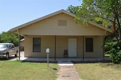 Wichita Falls TX Single Family Home For Sale: $139,900