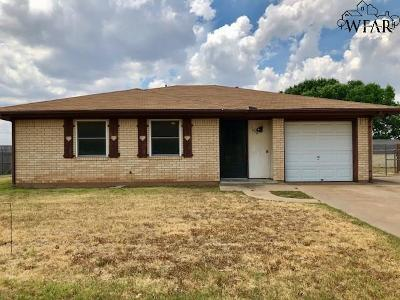 Wichita Falls Single Family Home For Sale: 1612 Grandview West