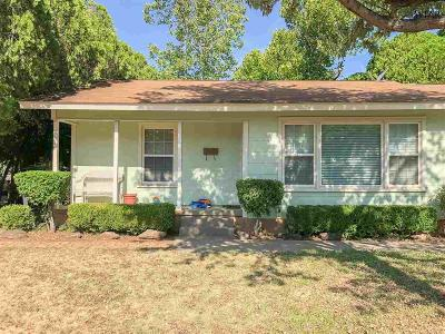 Wichita Falls TX Single Family Home For Sale: $68,750
