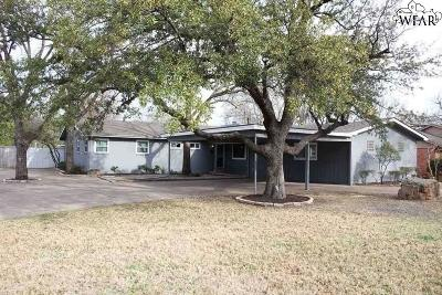 Wichita Falls TX Single Family Home For Sale: $259,900