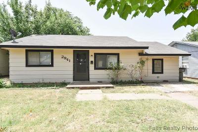 Wichita Falls TX Single Family Home For Sale: $69,900