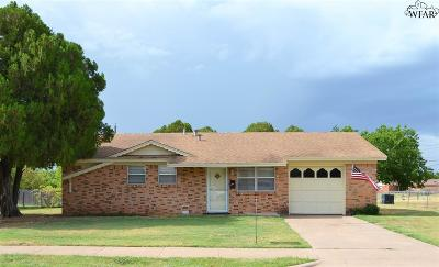 Wichita Falls TX Single Family Home For Sale: $76,500
