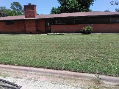 Wichita Falls TX Single Family Home For Sale: $9,000