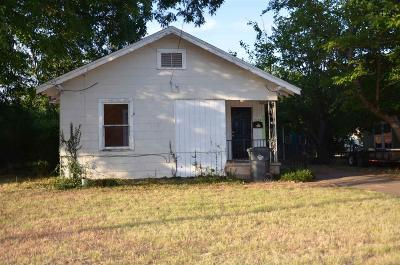 Wichita Falls TX Single Family Home For Sale: $38,000