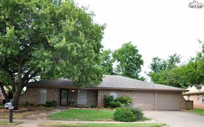 Wichita Falls TX Single Family Home For Sale: $180,000