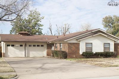 Wichita Falls TX Single Family Home For Sale: $115,000