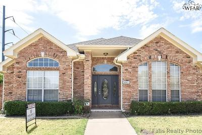 Wichita Falls Single Family Home Active W/Option Contract: 4001 Kingsbury Drive