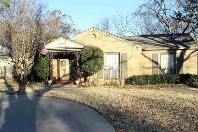 Wichita Falls Single Family Home For Sale: 2903 Taft Boulevard