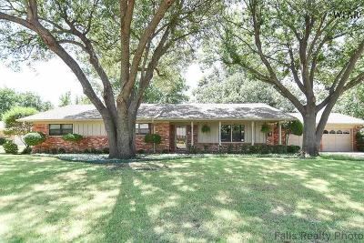 Wichita Falls TX Single Family Home For Sale: $264,900
