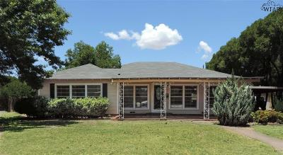 Wichita Falls Single Family Home For Sale: 3314 Cumberland Avenue