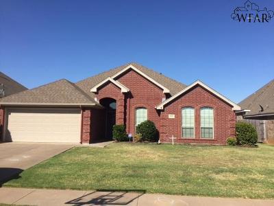 Wichita Falls Single Family Home For Sale: 5608 Ross Creek Lane
