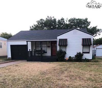 Wichita Falls Single Family Home For Sale: 3212 Miami Avenue