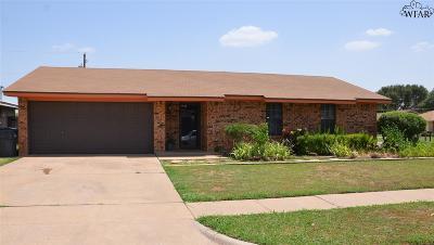 Wichita Falls Single Family Home For Sale: 6615 Rosedale Street