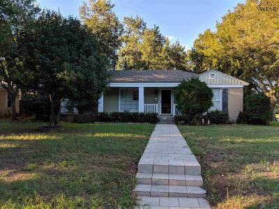 Wichita Falls Single Family Home For Sale: 2400 Fain Street