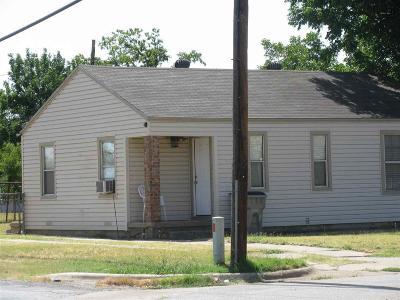 Wichita Falls TX Single Family Home For Sale: $29,900