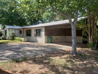 Burkburnett Single Family Home For Sale: 1200 Sheppard Road
