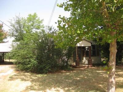 Wichita Falls TX Single Family Home For Sale: $30,000