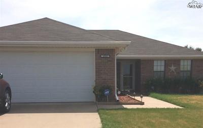 Wichita Falls TX Single Family Home For Sale: $118,500