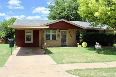 Wichita Falls TX Single Family Home For Sale: $86,500