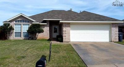 Wichita Falls Single Family Home For Sale: 5431 Ricci Street