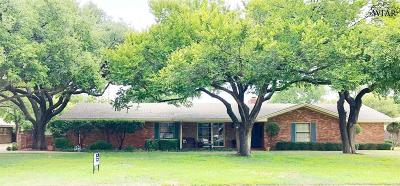 wichita falls Single Family Home For Sale: 2503 Amherst Drive