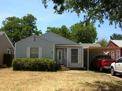 Single Family Home For Sale: 3212 Glenwood Avenue