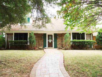 Wichita Falls Single Family Home For Sale: 4503 Shady Lane