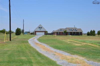 Wichita Falls Single Family Home For Sale: 8439 Cooper Road