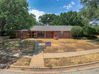 Wichita Falls Single Family Home For Sale: 1552 Singleton Avenue