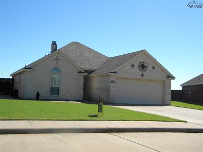 Wichita County Single Family Home For Sale: 1113 Heritage Road