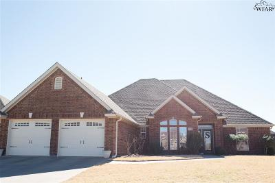 Wichita County Single Family Home For Sale: 4172 Candlewood Circle