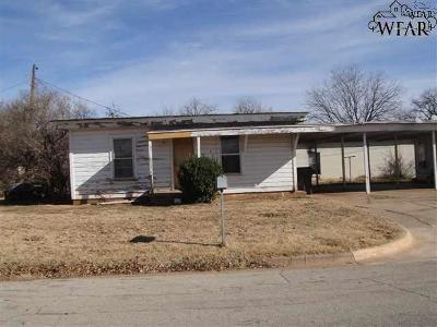Wichita Falls Multi Family Home For Sale: 405 N Austin Street