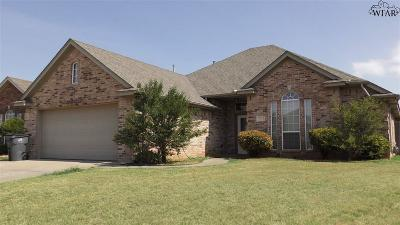 Wichita Falls Single Family Home For Sale: 5113 Tillie Drive