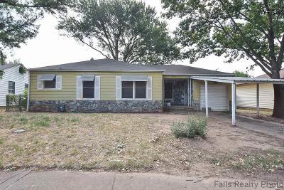 Wichita Falls Single Family Home For Sale: 4315 Featherston Avenue