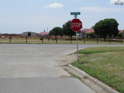 Burkburnett Residential Lots & Land For Sale: 1070 Jan Lee Drive