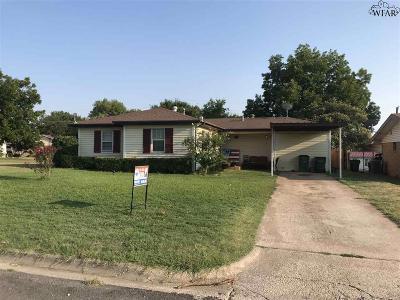 Single Family Home Active W/Option Contract: 1005 E Wichita Street