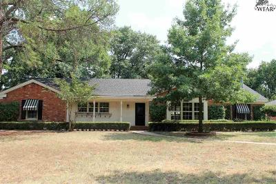 Wichita County Single Family Home For Sale: 2205 Ellingham Drive
