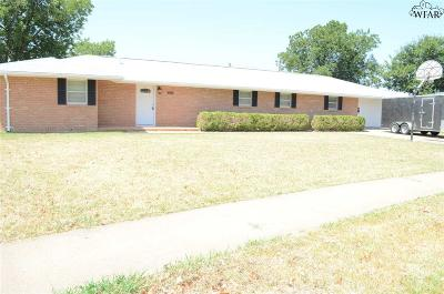 Burkburnett Single Family Home For Sale: 506 S Hilltop Avenue