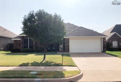 Wichita Falls Single Family Home For Sale: 5450 Prairie Lace Lane